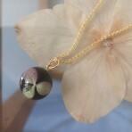 Hortensiablomst Halskæde-Udsolgt