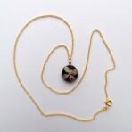 Hortensiablomst Guld