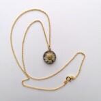 Tibetansk Perlekurv Guld 3