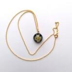 Tibetansk Perlekurv Guld 6