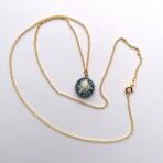 Tibetansk Perlekurv Guld 8